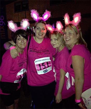 midnight walk 2014